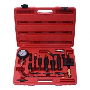 14 Pcs Diesel Compression Tester Kit