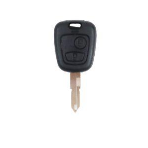 Peugeot 206, 207 | Complete Remote Key (2 Button, NE73  Blade, 433MHz)