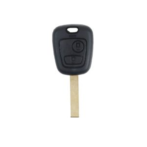 Peugeot 207, 307 | Complete Remote Key (2 Button, HU83  Blade, 433MHz)