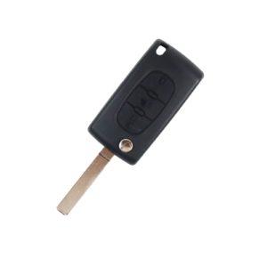 Peugeot 207, 208, 307, 308, 408, Partner | Complete Remote Key (3 Button, VA2  Blade, 433MHz )