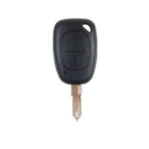 Renault Trafic, Master, Movano, Kangoo   Complete Remote Key (2 Button, NE73  Blade, 434MHz)