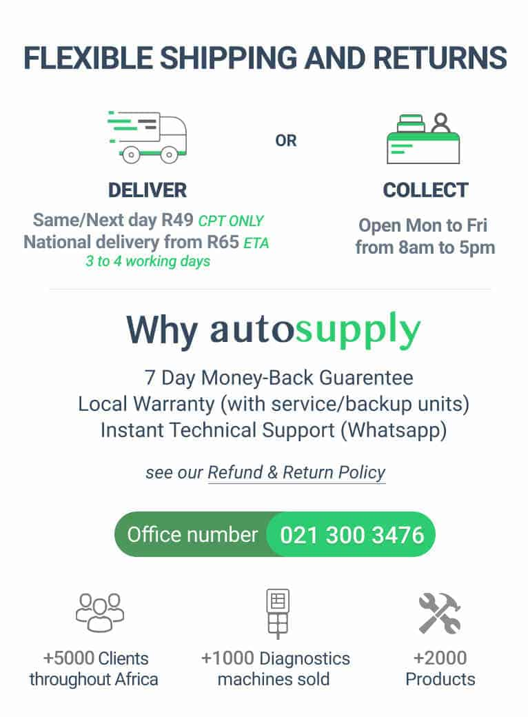 delivery & Why Autosupply Banner