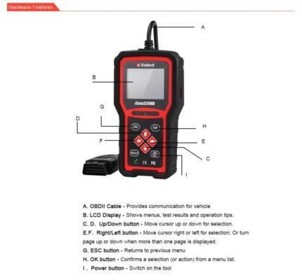 iEasy320HD Truck Diagnostic   OBDII/EOBD CAN Code Reader - (Diesel & Petrol)