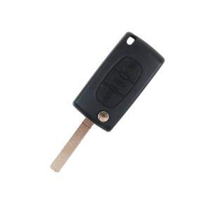 Peugeot  - 207, 208, 307, 308, 408, Partner | Remote Key Case & Blade (2 Button, VA2 Blade)