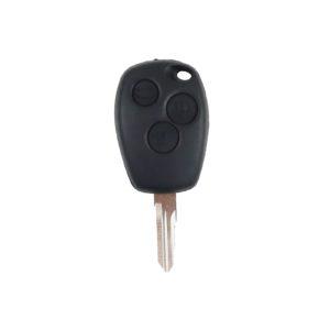 Renault - Megane, Modus, Fluence, Clio, Kangoo   Remote Key Case & Blade (3 Button, VAC102 Blade)