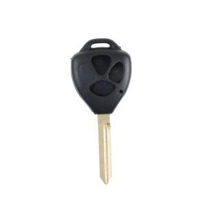 Toyota - Corolla, Auris, Yaris | Remote Key Case & Blade (3 Button, TOY47 Blade)