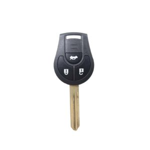 Nissan - Juke, March, Qashqai + Others   Complete Remote Key (3 Buttons, NSN14 Blade, 433MHz Frequency)
