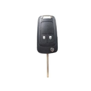 Opel - Astra J, Astra H, Co + Others   Complete Remote Key (2 Buttons, HU100 Blade, 433MHz Frequency)