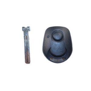 Ssangyong  - Actyon, Kyron, Rexton   Remote Case & Blade (2 Buttons, SSY3 Blade, Left Blade)