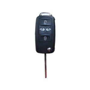 Volkswagen - Sharan, Multivan, Ca + Others | Remote Case & Blade (4 Buttons, HU66 Blade)