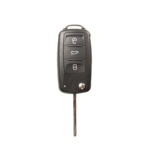 Volkswagen - Passat, Caddy, Eos,  + Others | Complete Remote Key (3 Buttons, HU66 Blade, 434MHz Frequency)
